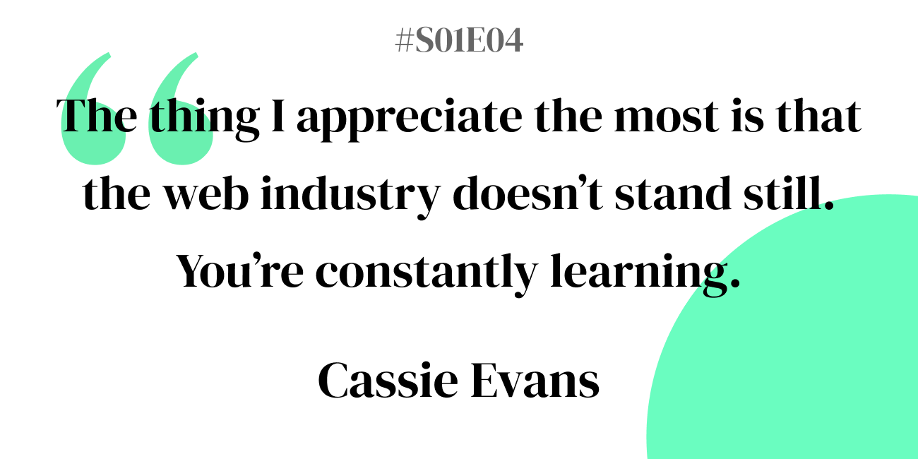 S01E04: Cassie Evans - Behind the Source